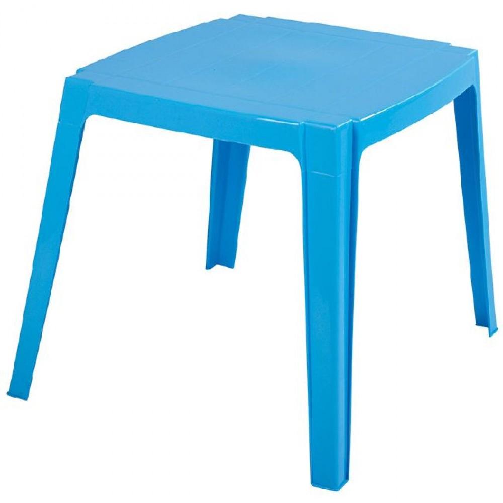 Table De Jardin Enfant 4 Personnes Bleu à Mobilier De Jardin Enfant