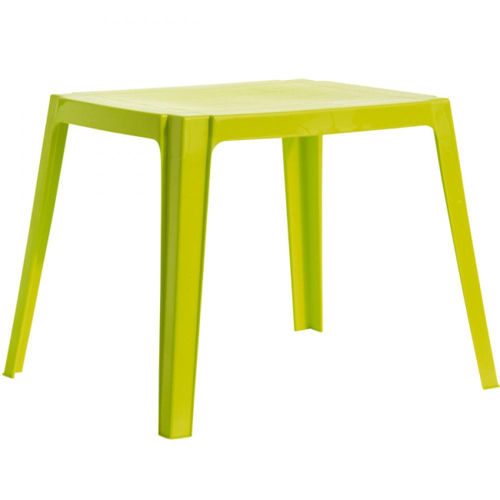 Table De Jardin Enfant 4 Personnes Vert destiné Table Et Chaise Jardin Enfant