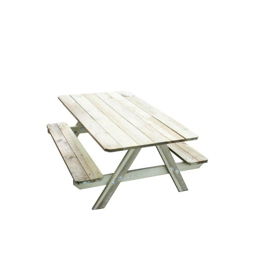 Table De Jardin Enfant Picnic Trigano serapportantà Mobilier De Jardin Enfant