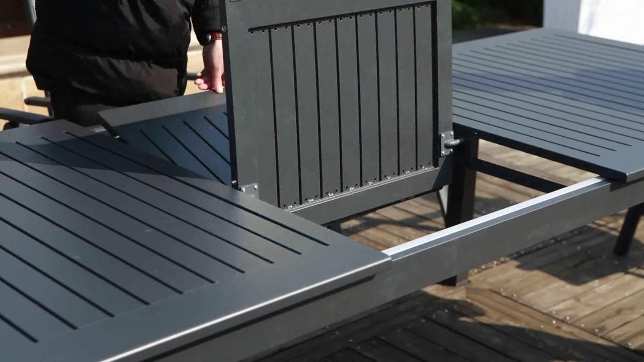 Table De Jardin Extensible Berana - Concept Usine concernant Table De Jardin Extensible Pas Cher