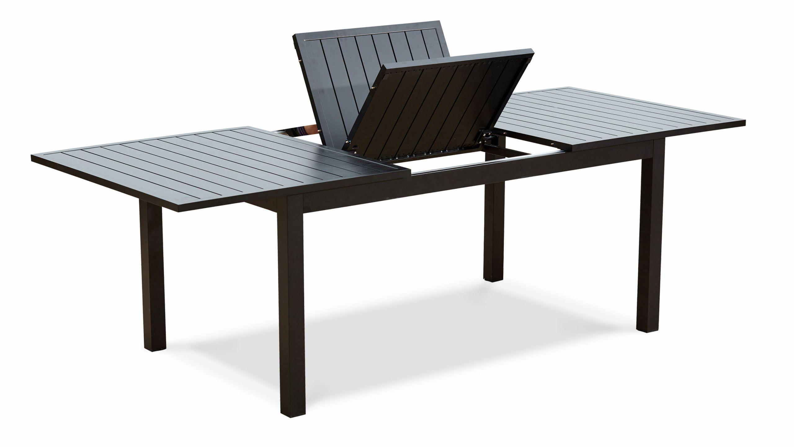 Table De Jardin Extensible Des Idées - Idees Conception Jardin dedans Table Jardin Aluminium Avec Rallonge