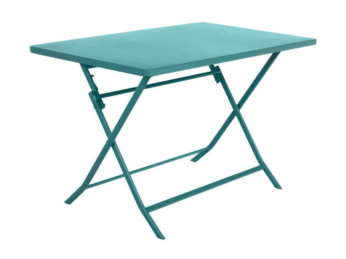 Table De Jardin Hespéride Pliante Rectangle Greensboro ... à Table De Jardin Metal Pliante