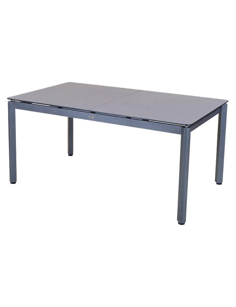 Table De Jardin Hpl Extensible 160/220X95 - Gris / Céramique ... intérieur Table Jardin Ceramique
