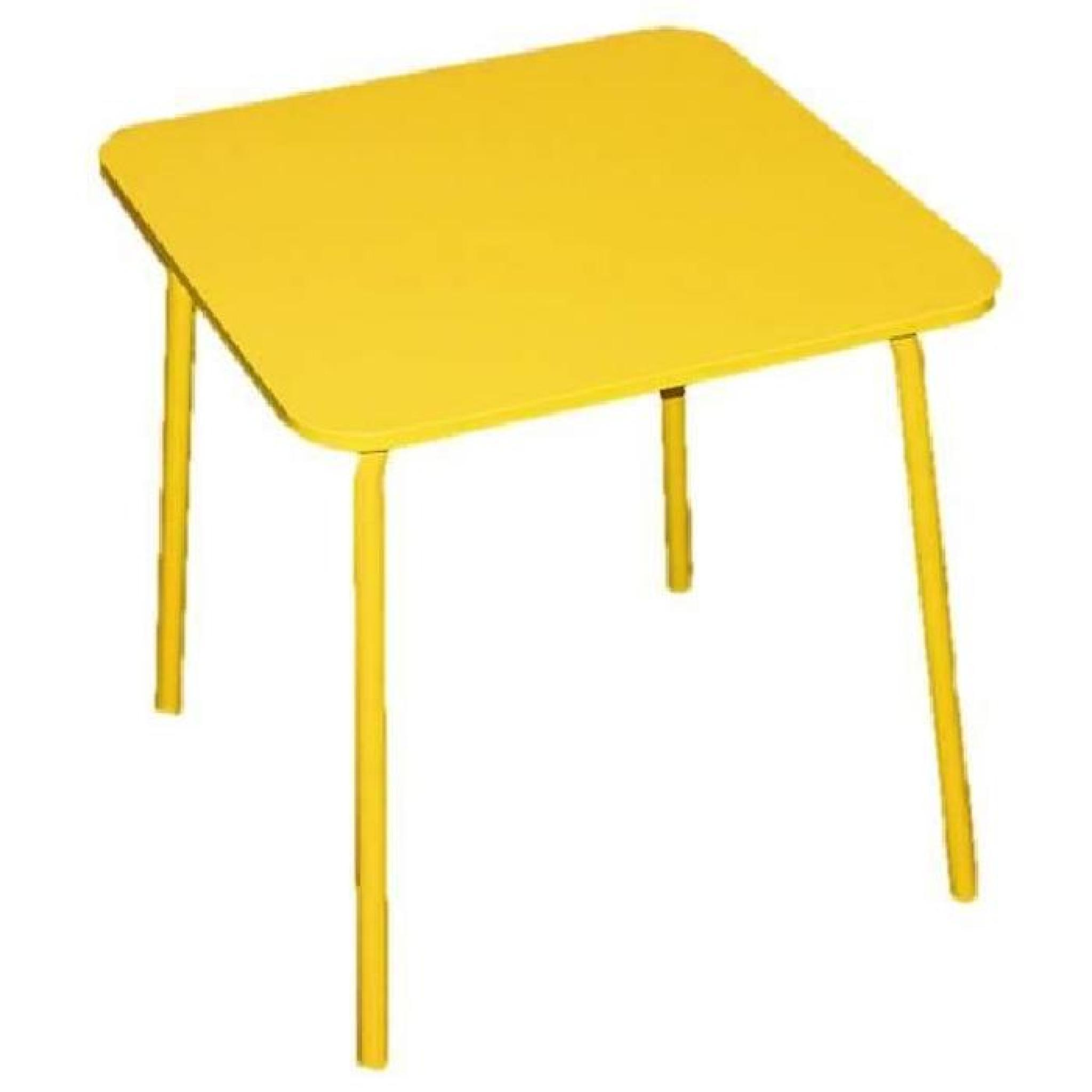 Table De Jardin Little Pour Enfant , Moderne En Métal tout Mobilier De Jardin Enfant