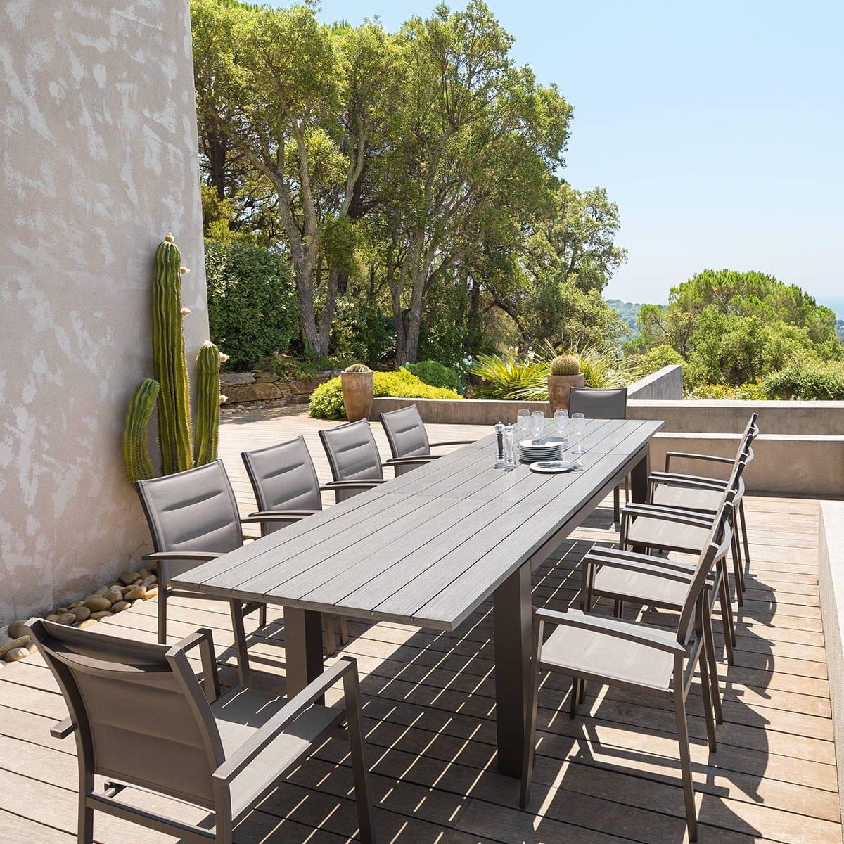 Table De Jardin Modulable – Nieuwste Woninginrichting destiné Auchan Table De Jardin