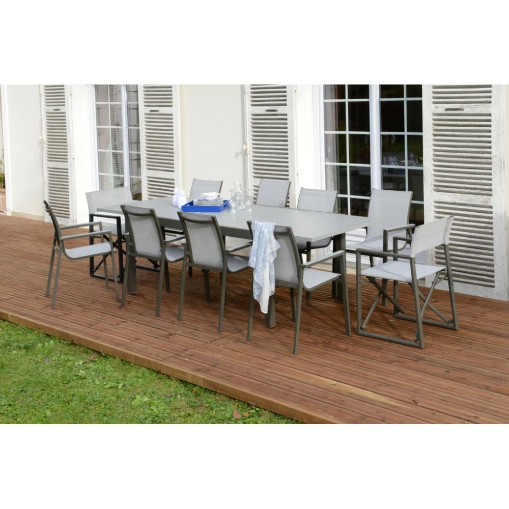 Table De Jardin Montana 2 Aluminium tout Table De Jardin Promo