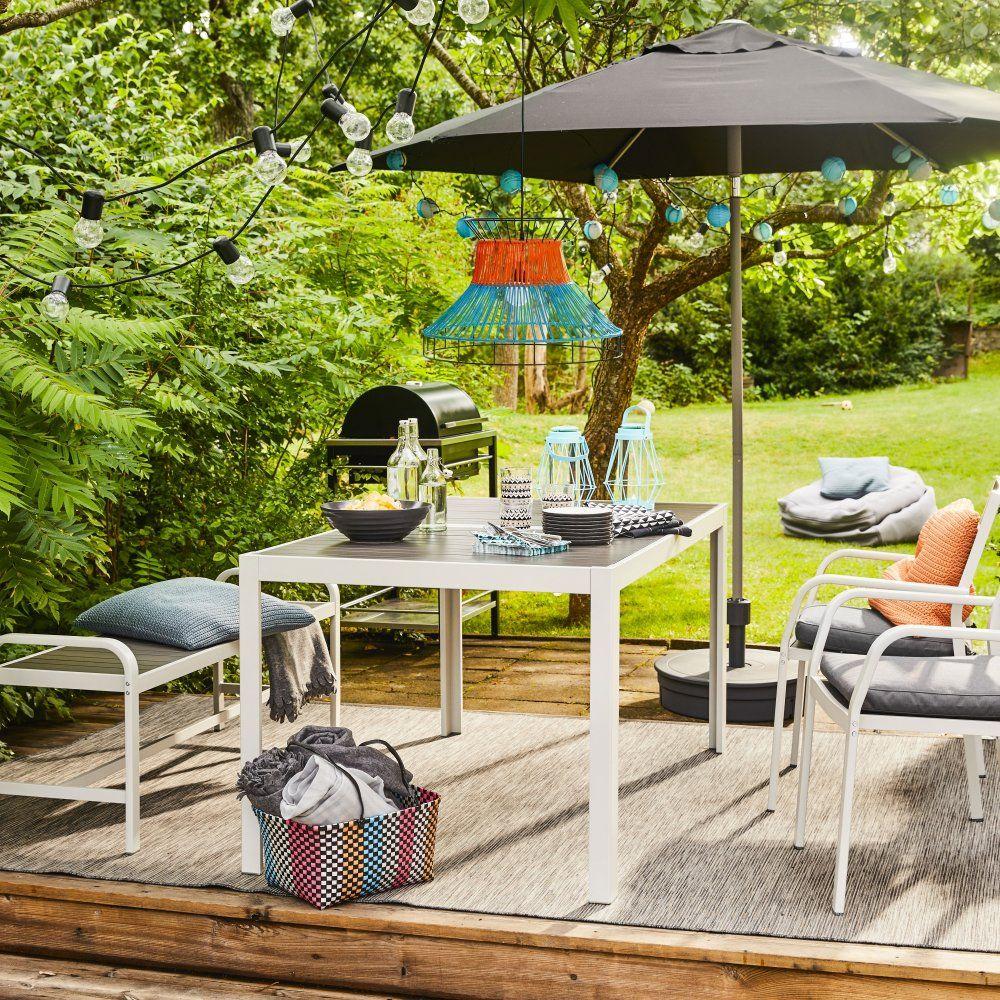 Table De Jardin : Notre Sélection Pour L'été   Diy Garden ... pour Table Ronde Jardin Ikea