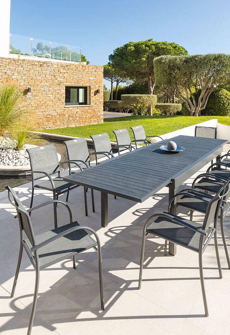 Table De Jardin Piazza | Salon De Jardin Truffaut, Table De ... intérieur Truffaut Salon De Jardin