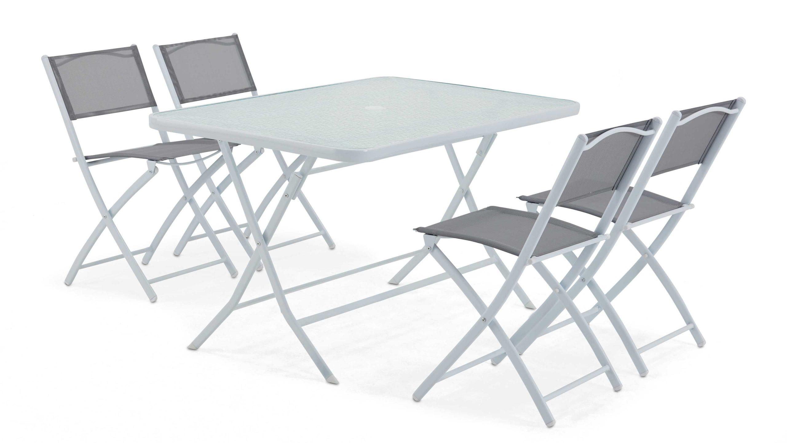 Table De Jardin Pliante 4 Places   Oviala à Table Et Chaises De Jardin Pas Cher