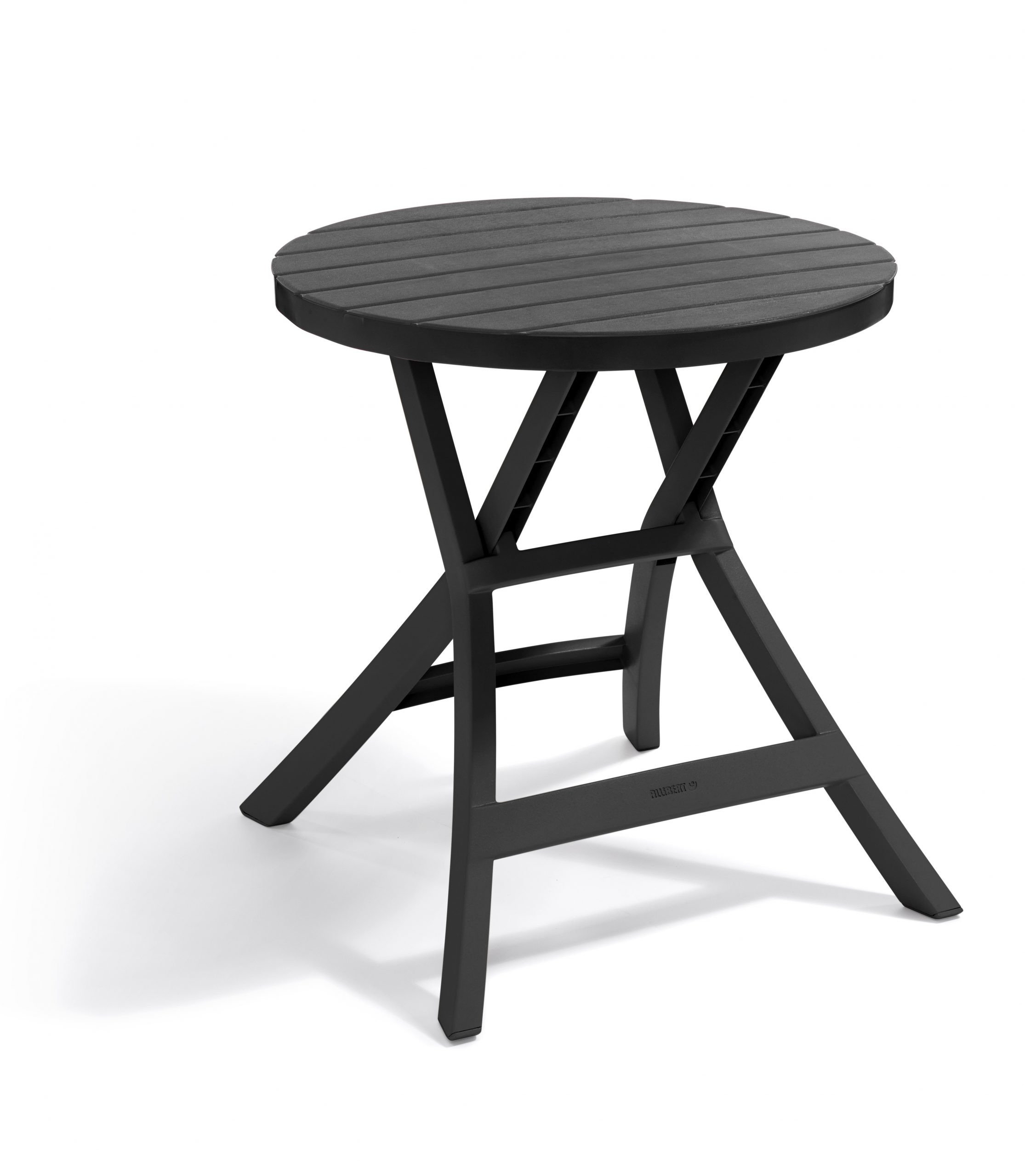 Table De Jardin Pliante Oregon 70 X 70 X 72 Cm Allibert - Mr.bricolage concernant Table De Jardin Allibert