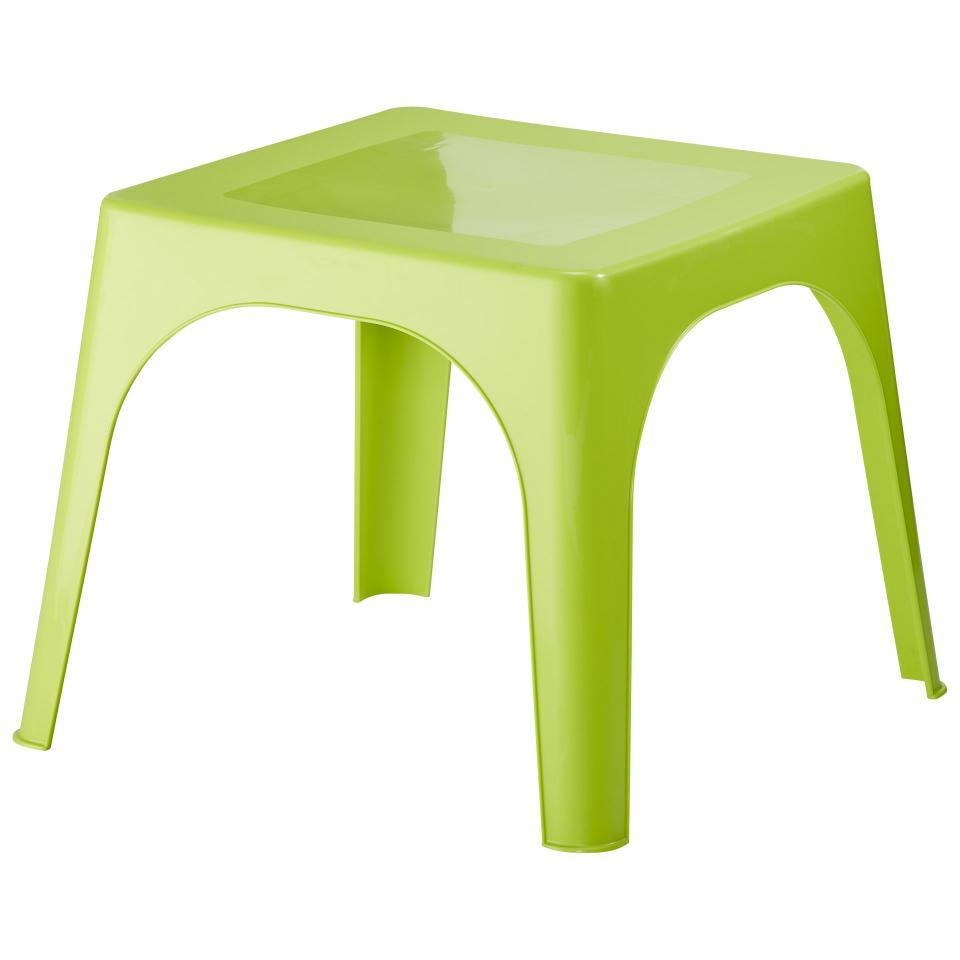 Table De Jardin Pour Enfants (59X59, Vert) destiné Table De Jardin Enfants