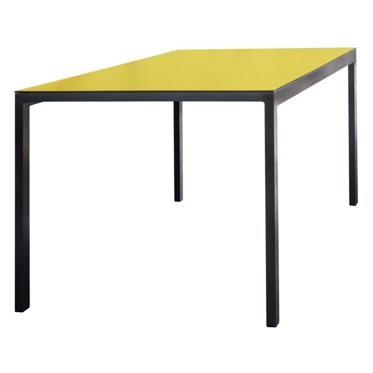 Table De Jardin Rectangulaire Cora En Aluminium Et Plateau ... encequiconcerne Table De Jardin Cora