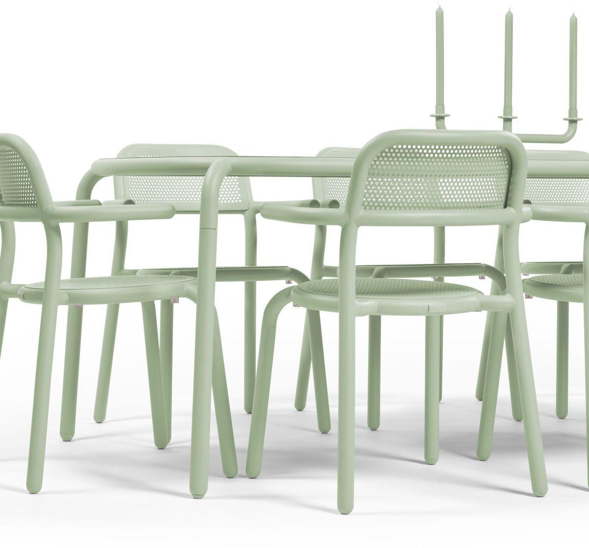 Table De Jardin Rectangulaire Verte Toni Tablo - Fatboy serapportantà Table De Jardin Verte