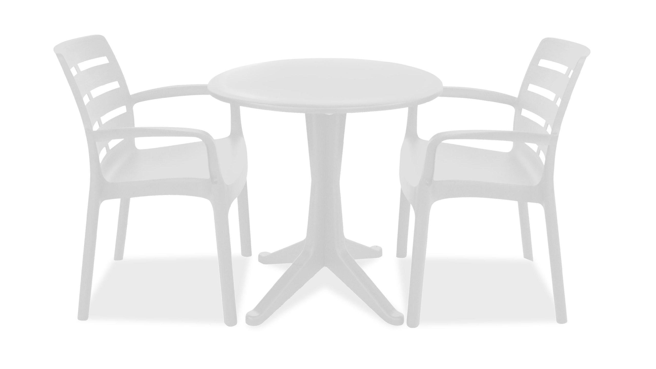 Table De Jardin Ronde En Plastique Fauteuils concernant Table Et Chaise De Jardin Pas Cher En Plastique