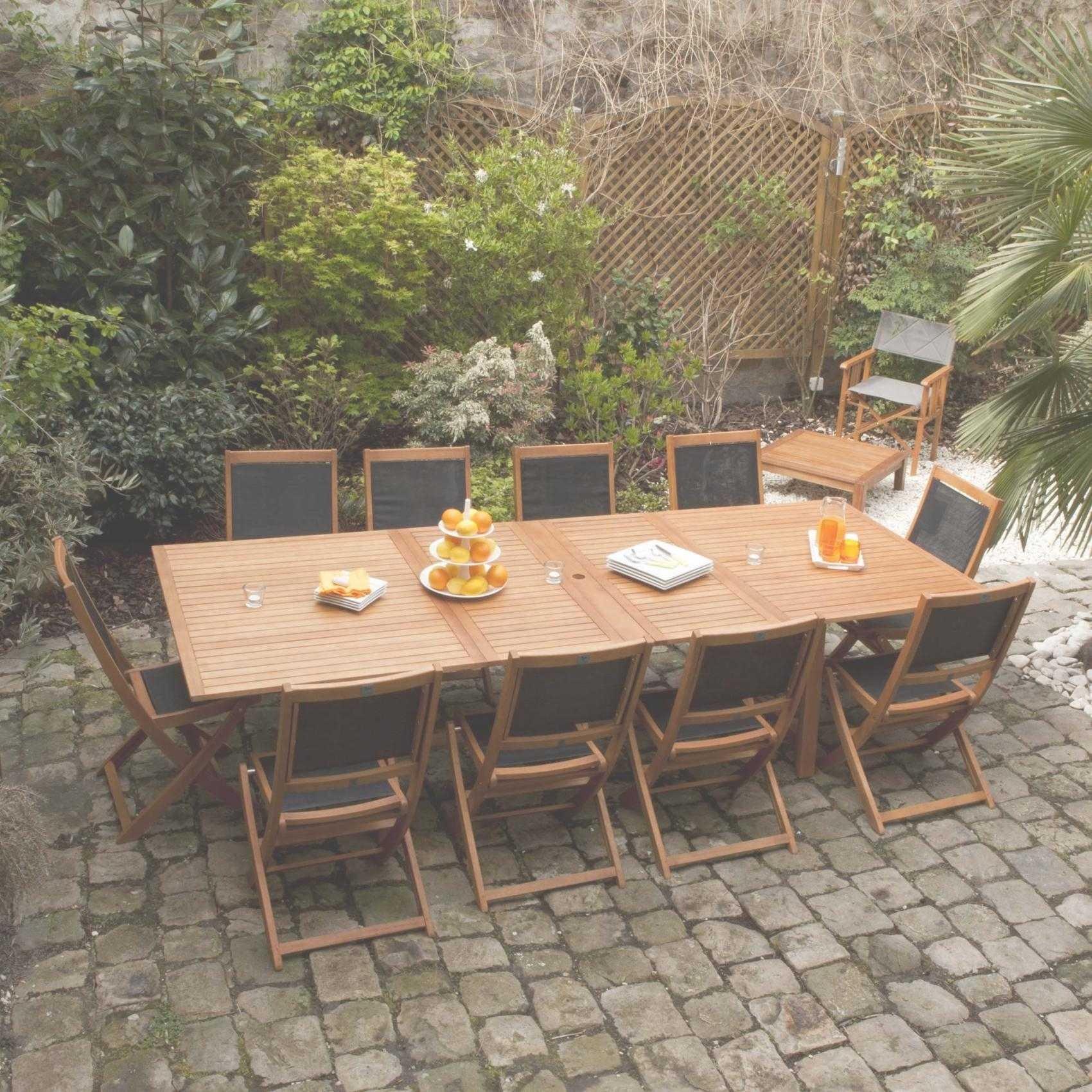 Table De Jardin Teck Leclerc Phil Barbato Beau Ronde Best ... à Table De Jardin Magasin Leclerc