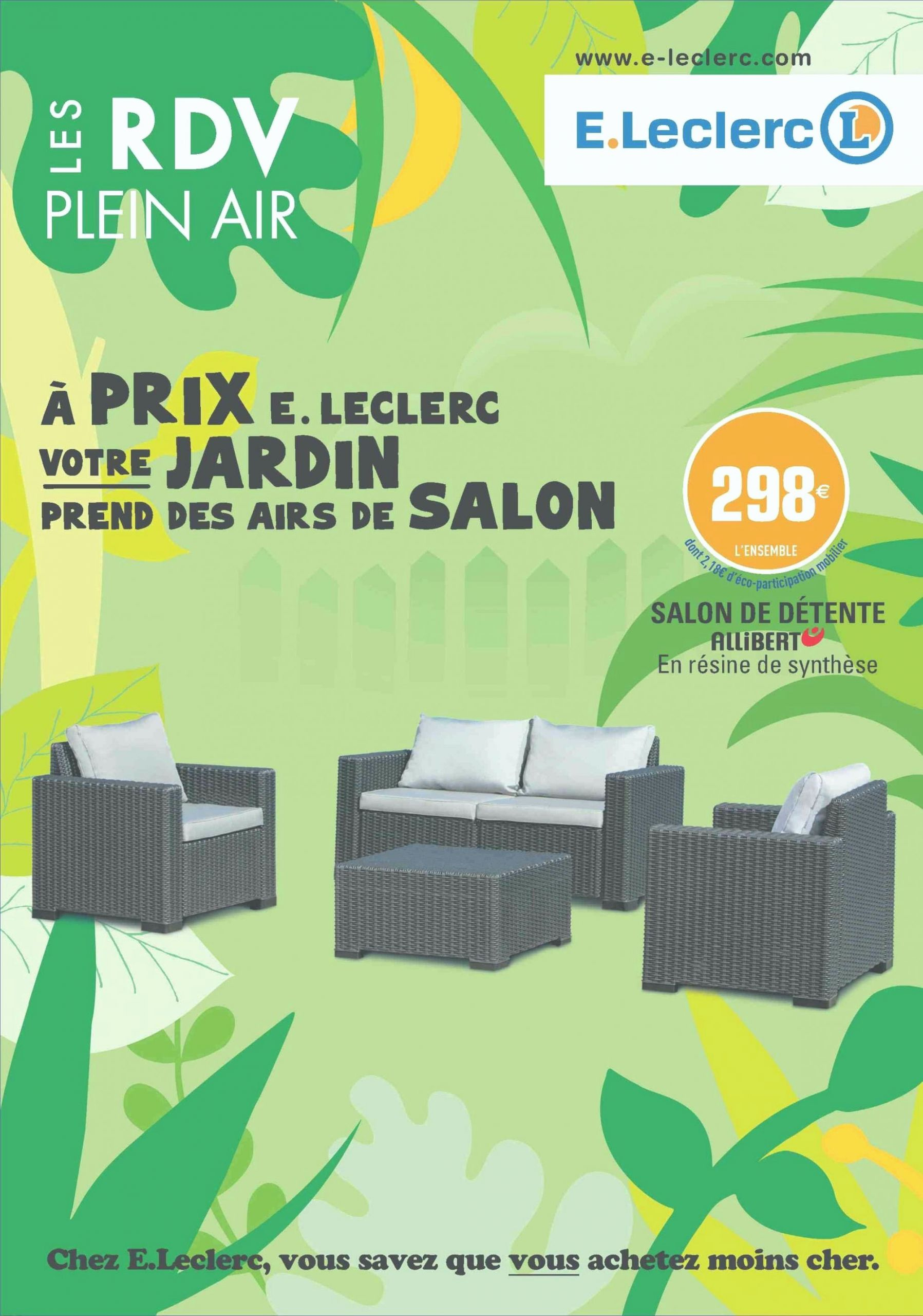 Table De Salon De Jardin Leclerc Inspirant Meuble Salle De ... serapportantà Transat Jardin Chez Leclerc