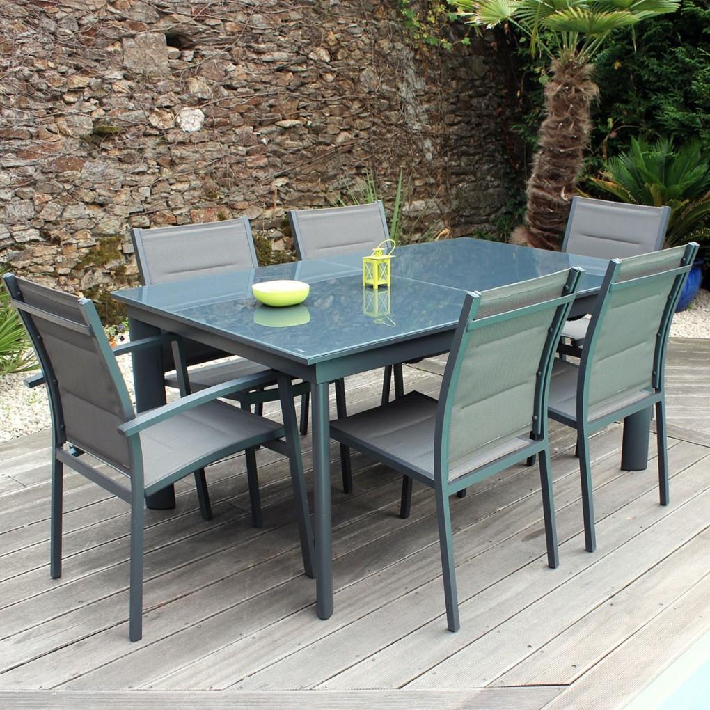 Table De Salon De Jardin Pas Cher Ensemble Table Et Chaise ... dedans Salon De Jardin Pas Cher En Resine