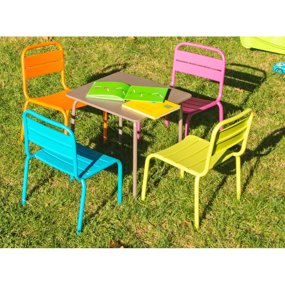 Table Enfant Casimir intérieur Salon De Jardin Enfants