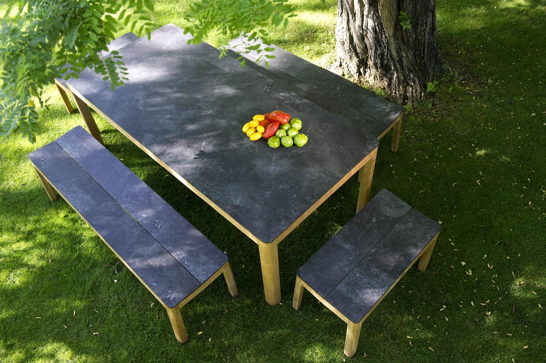 Table Et Banc De Jardin Tekura De Camif pour Camif Jardin