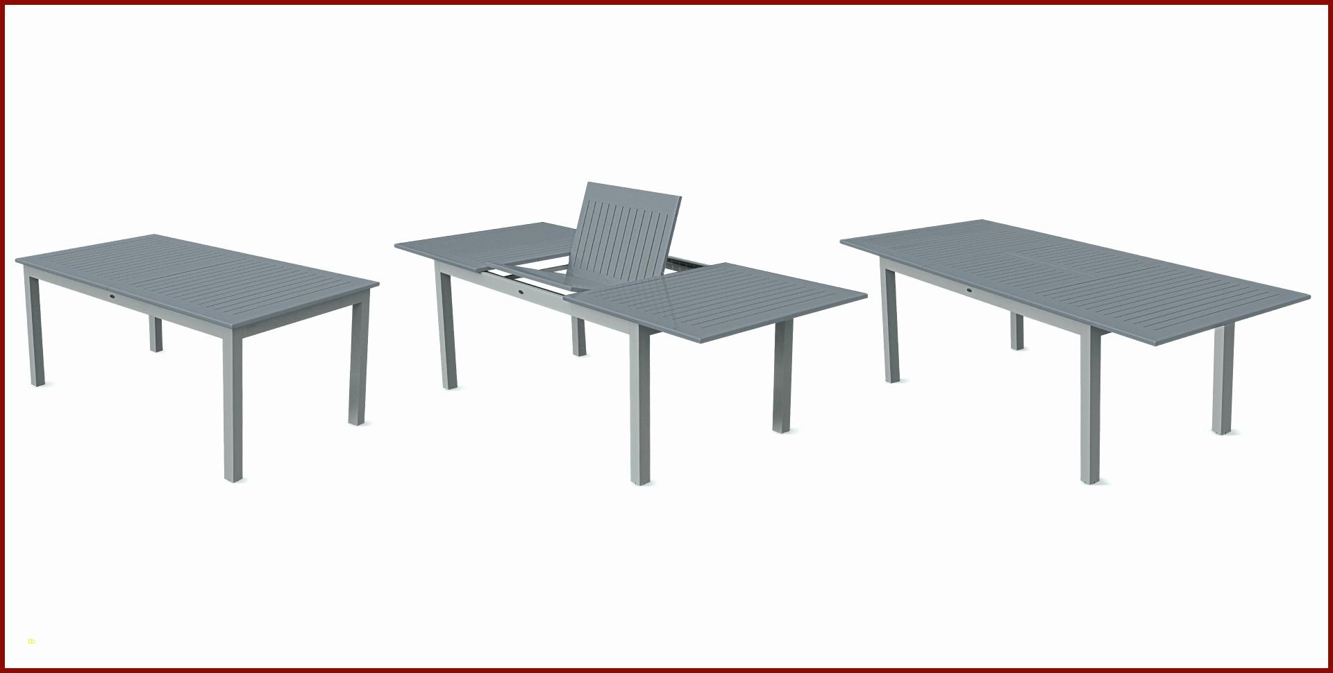 Table Et Chaise De Jardin Aluminium Génial Salon De Jardin ... pour Table Jardin Aluminium Avec Rallonge