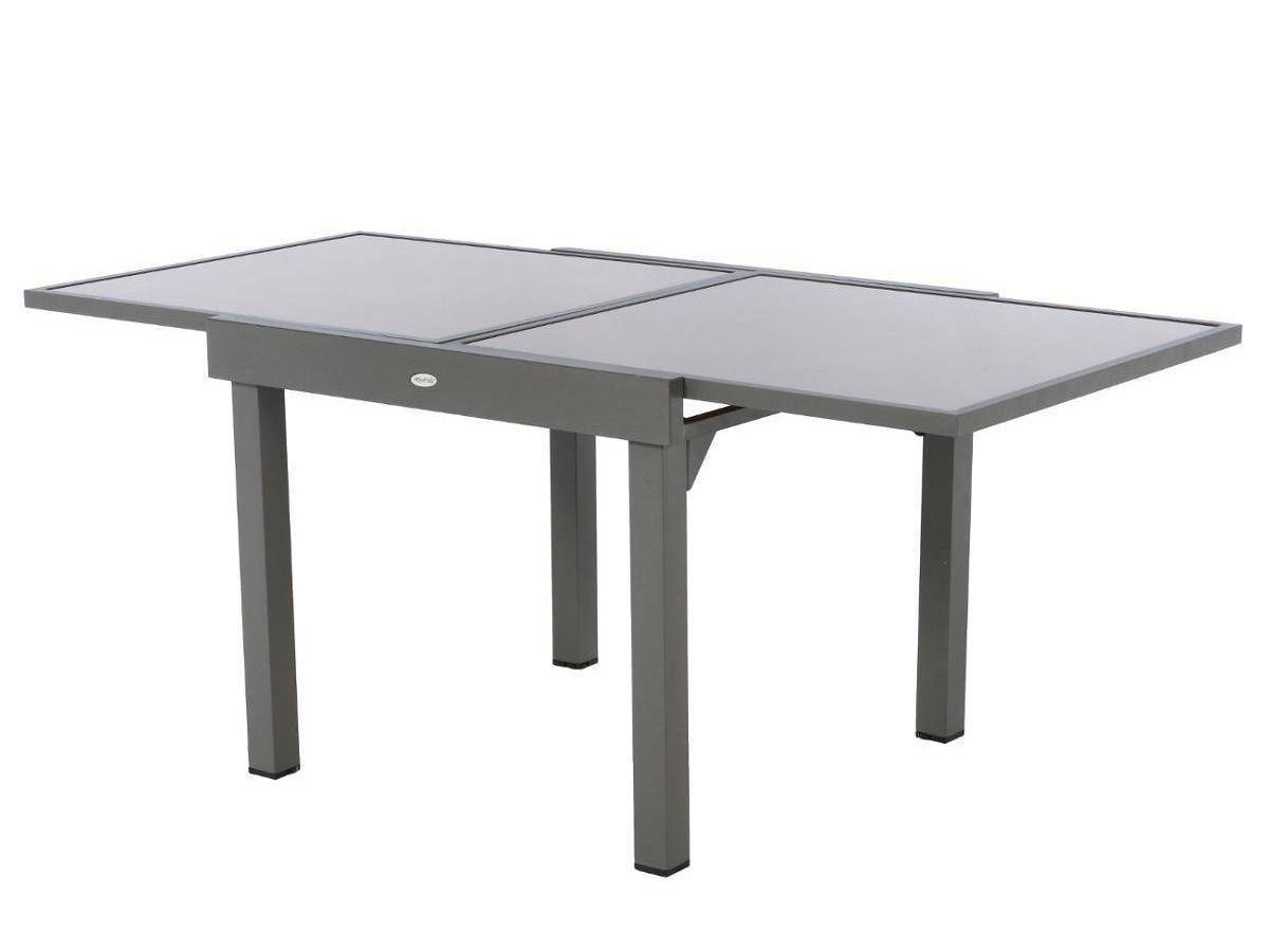 Table Extensible En Verre Piazza 4/8 Places - serapportantà Table De Jardin Carrée 8 Personnes