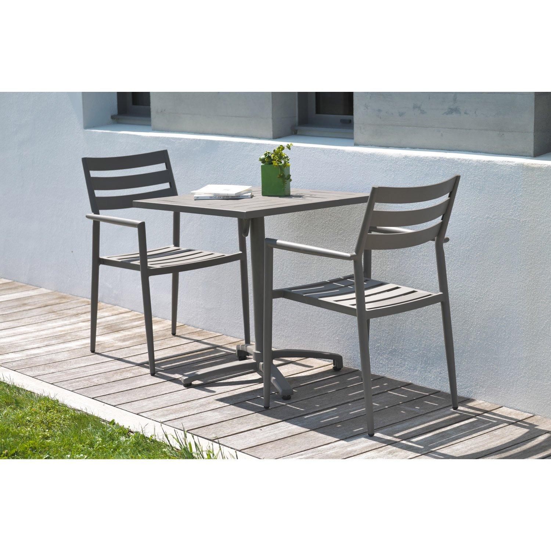 Table Exterieur 4 Personnes Des Idées - Idees Conception Jardin dedans Table De Jardin 2 Personnes