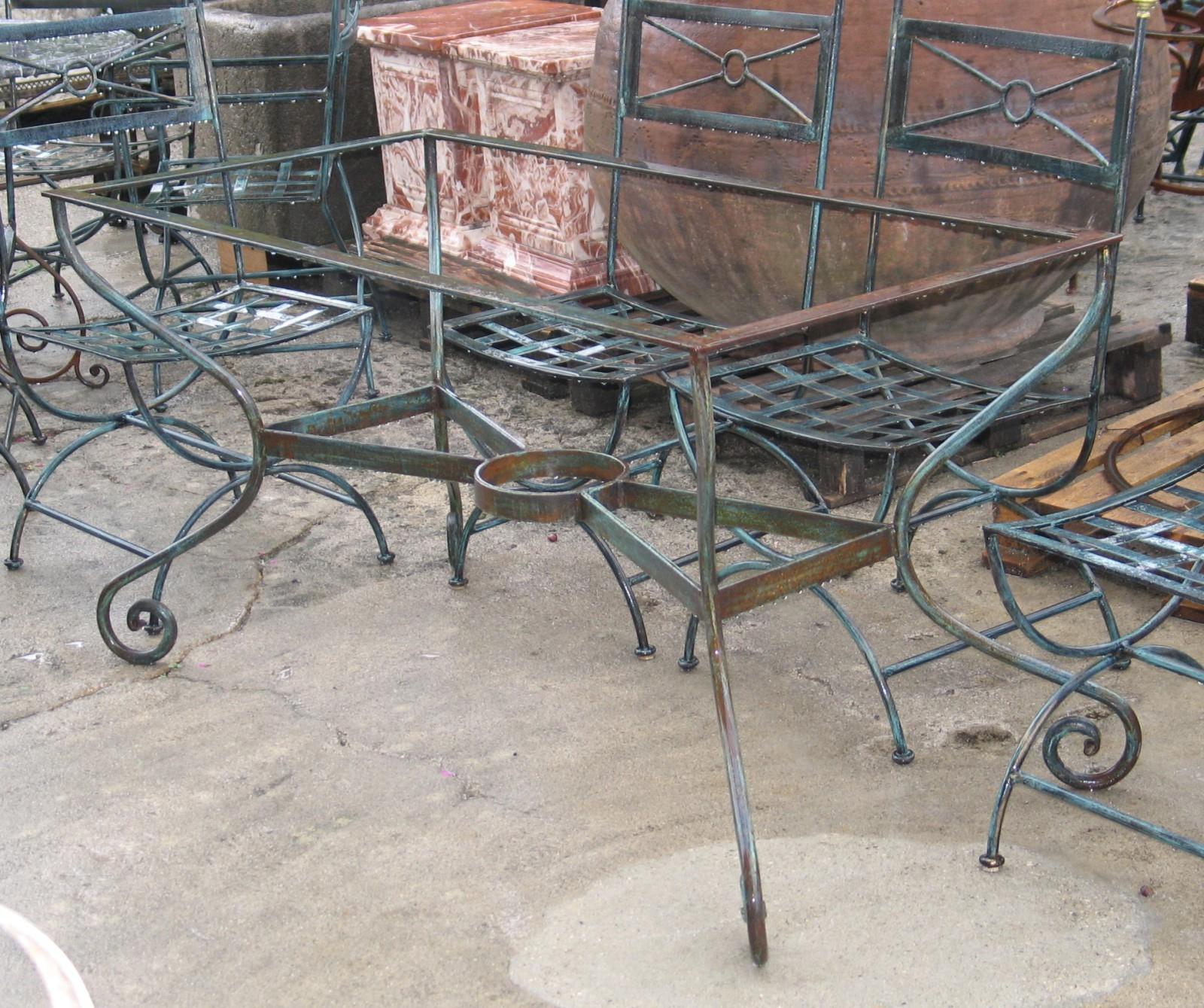 Table Fer Forg Mosaique Occasion Pour Salon De Jardin Chic ... destiné Salon Jardin Mosaique