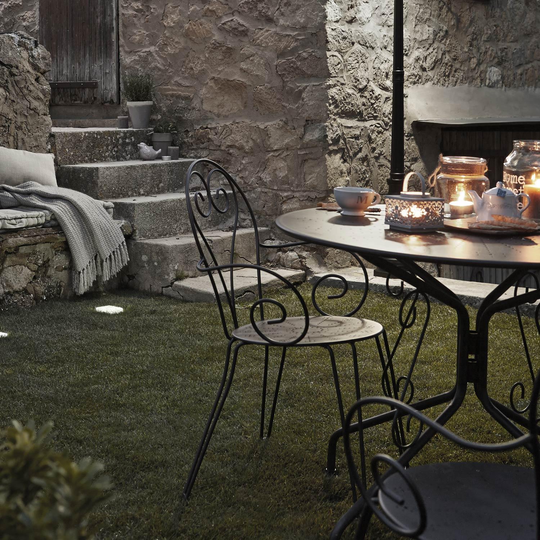 Table Fer Forg Mosaique Occasion Pour Salon De Jardin Chic ... serapportantà Salon De Jardin Fer Forgé Occasion