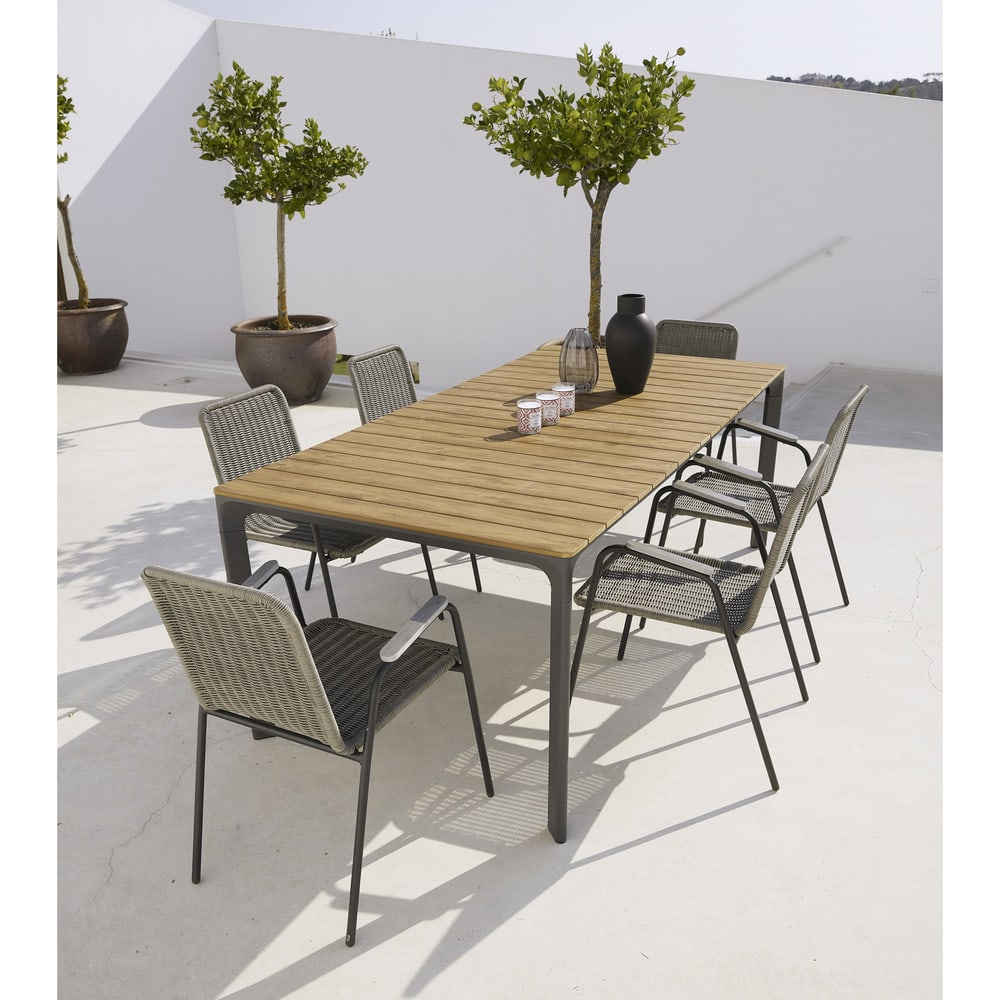 Table Jardin 16 Personnes - 28 Images - Table De Jardin ... à Table De Jardin Aluminium Et Composite