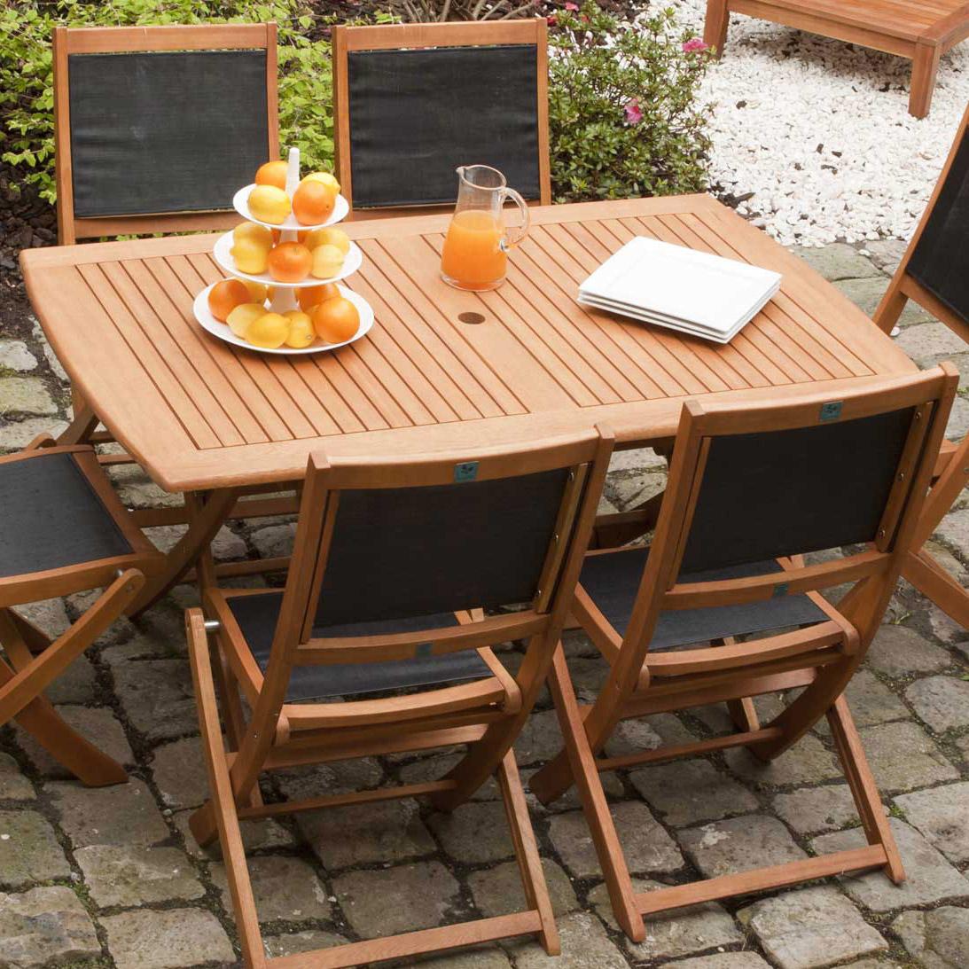 Table Jardin Bois Des Idées - Idees Conception Jardin encequiconcerne Table Jardin 4 Personnes