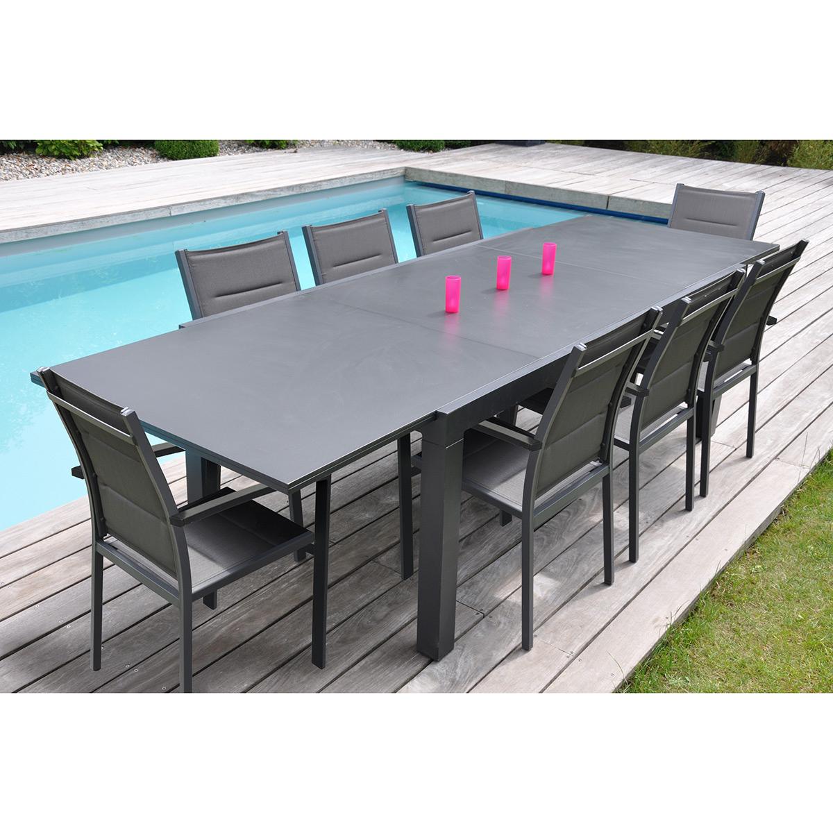 Table Jardin Bois Pas Cher Schème - Idees Conception Jardin avec Salon De Jardin Alu Pas Cher