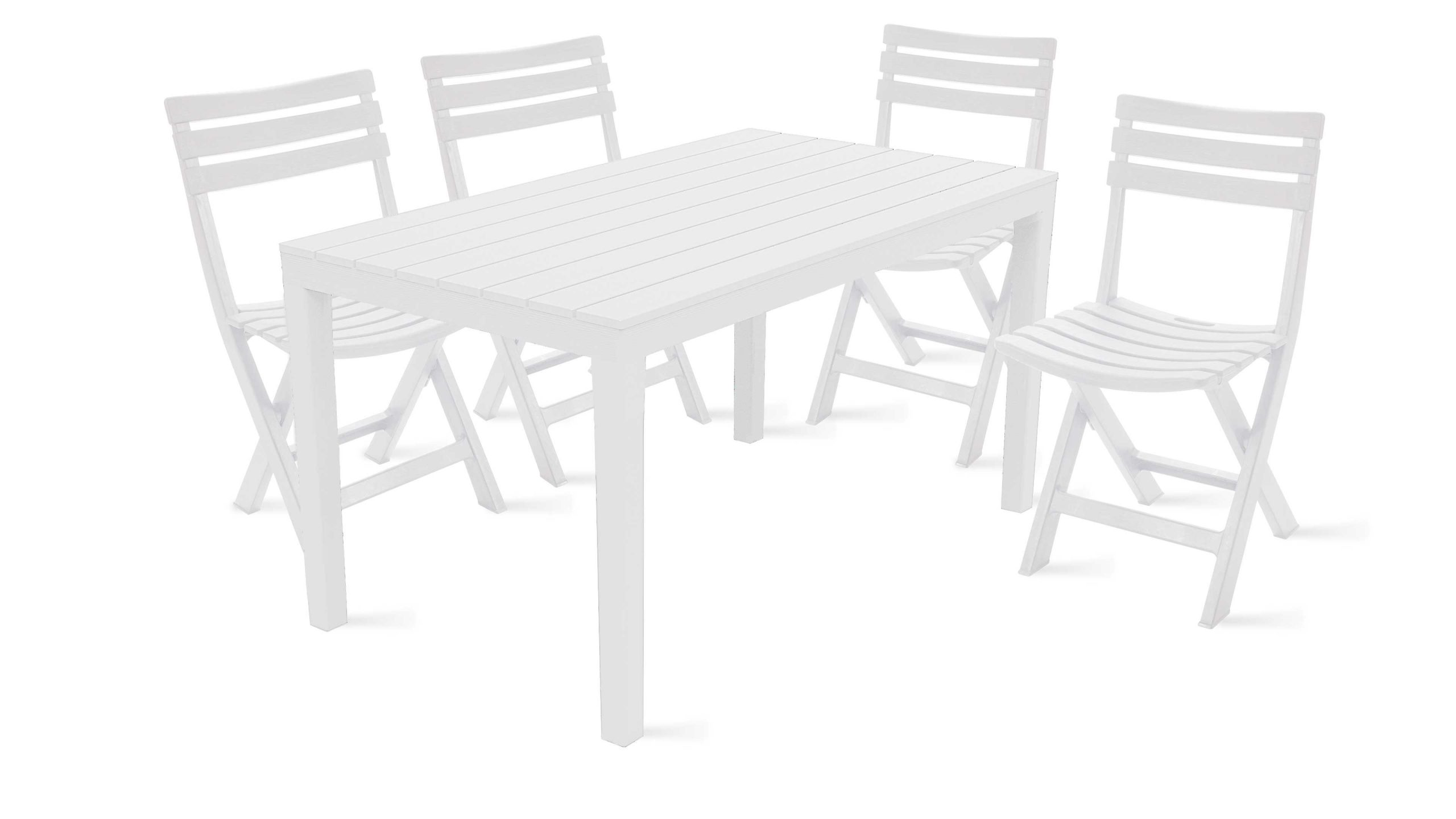 Table Jardin Plastique Et Chaises Pliantes dedans Table Et Chaise De Jardin En Plastique
