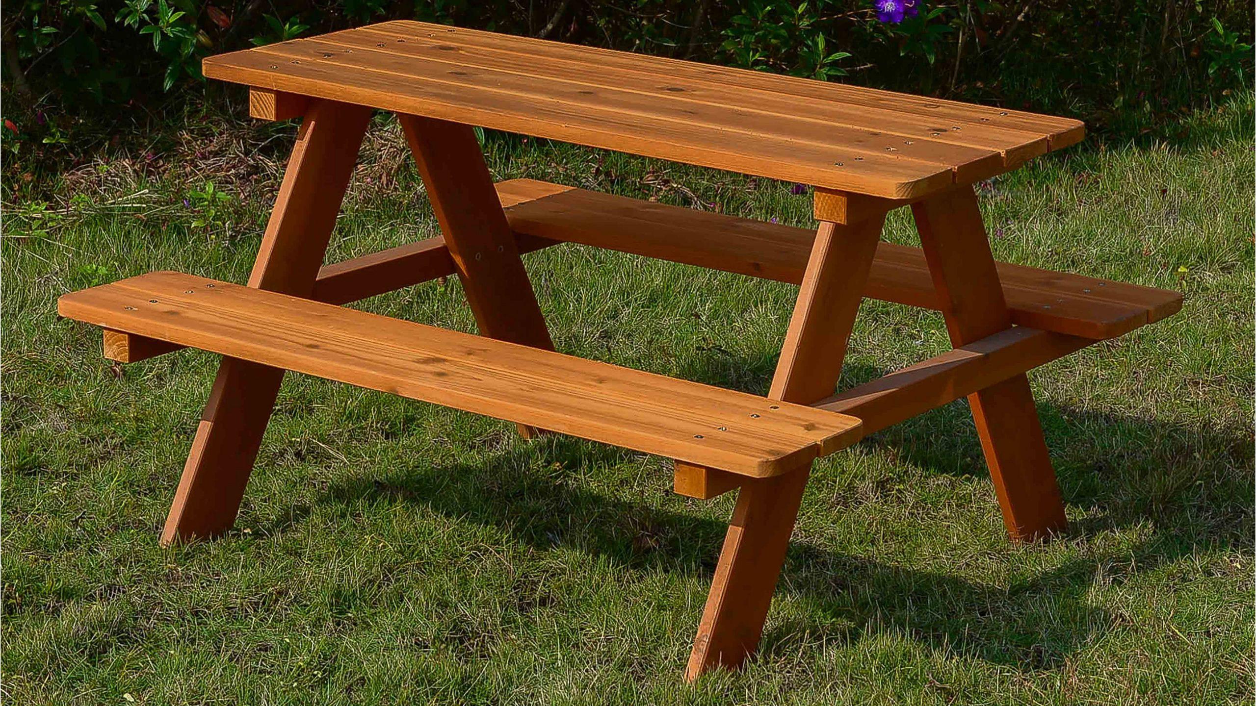 Table Pique Nique Enfant | Oviala destiné Table Jardin Bois Enfant