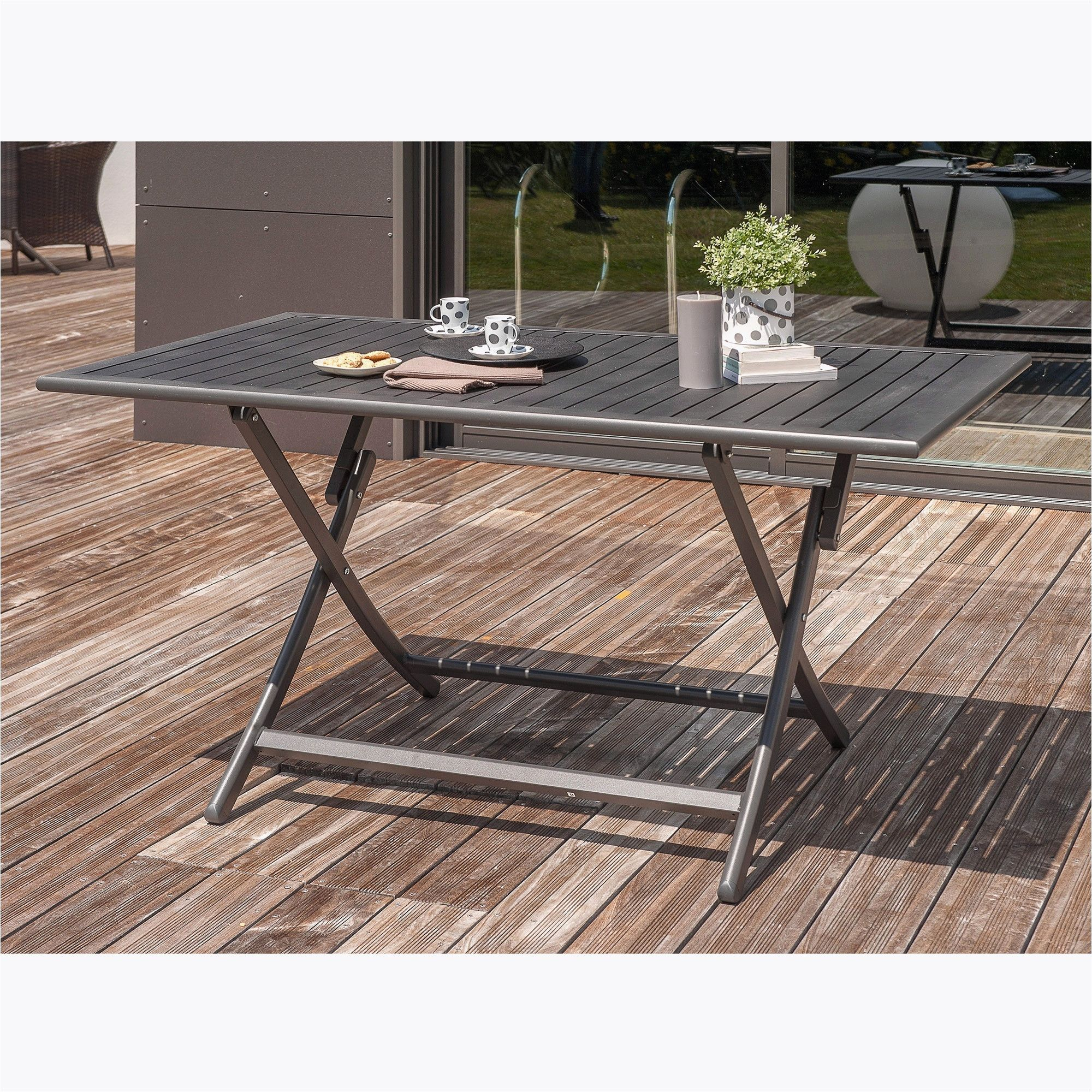 Table Pliante Leclerc Beau S Leclerc Table De Jardin ... à Abris Jardin Leclerc