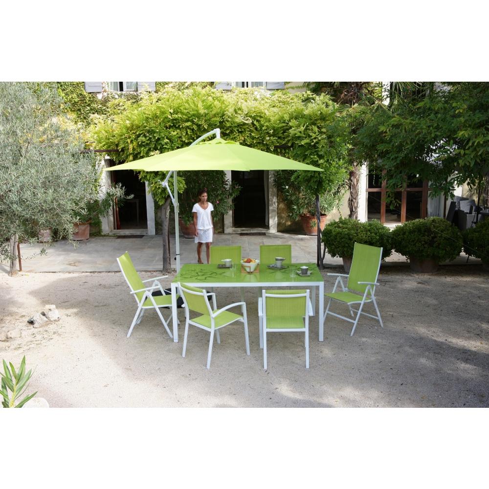 Table Rectangulaire Bambou à Salon De Jardin En Bambou