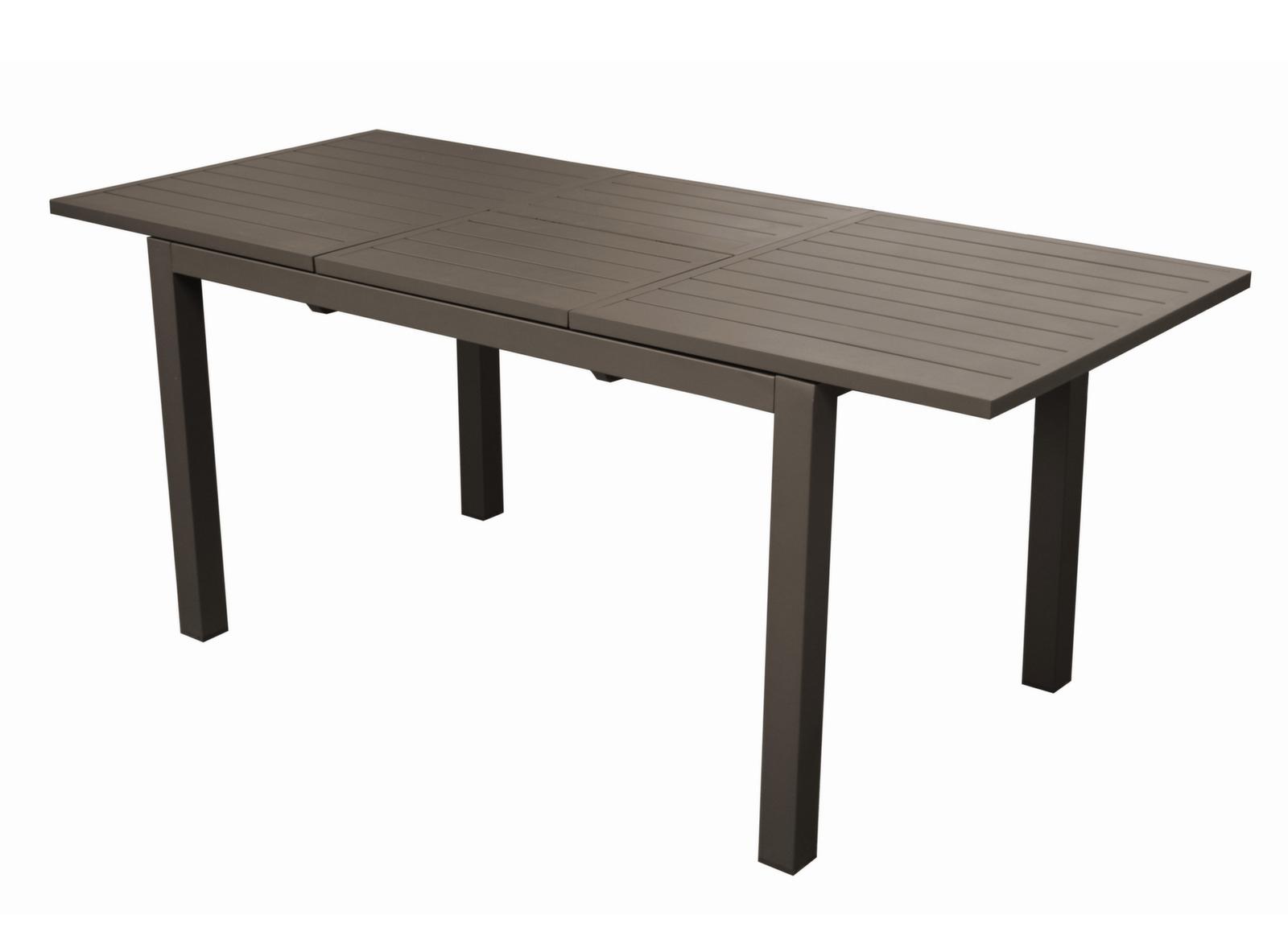 Table Trieste 130/180 Cm + 6 Chaises Théma encequiconcerne Table De Jardin Conforama