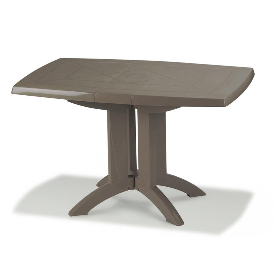 Tables De Jardin Vega 118 Cm avec Table Basse De Jardin En Plastique