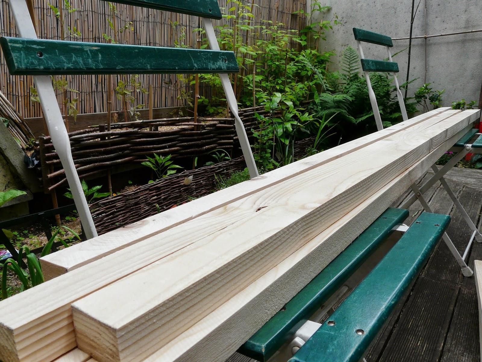 Tante Cath ... Le Blog !: Diy Construire Sa Cabane De Jardin à Paillote Jardin