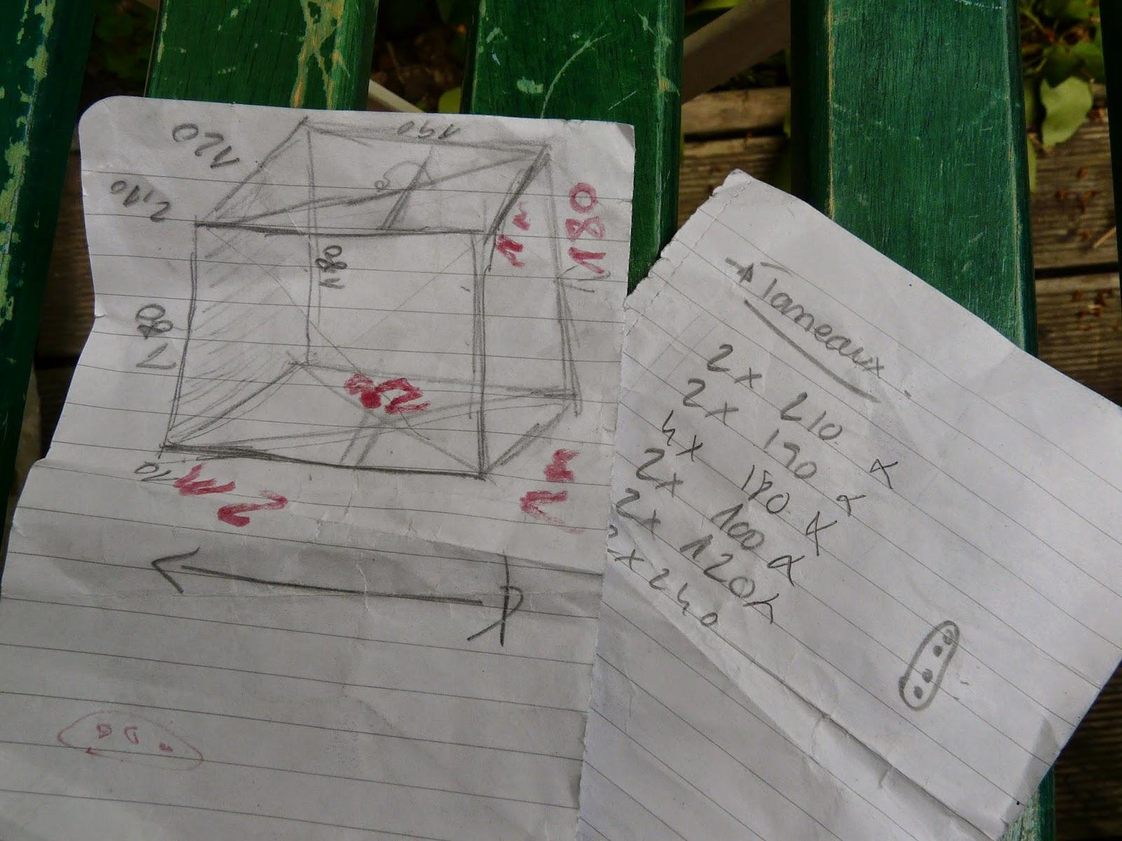 Tante Cath ... Le Blog !: Diy Construire Sa Cabane De Jardin pour Construire Cabane De Jardin