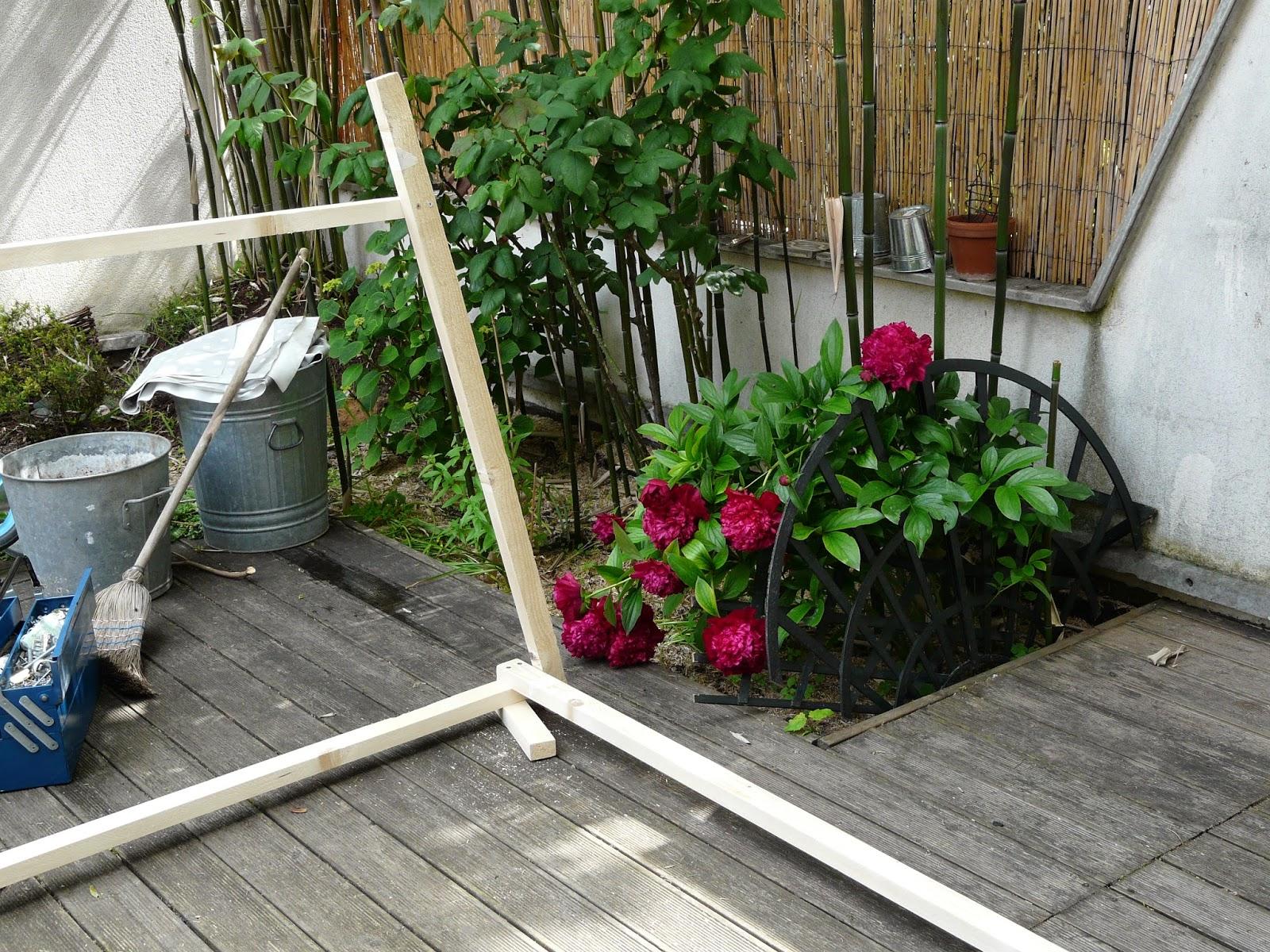 Tante Cath ... Le Blog !: Diy Construire Sa Cabane De Jardin tout Paillote Jardin