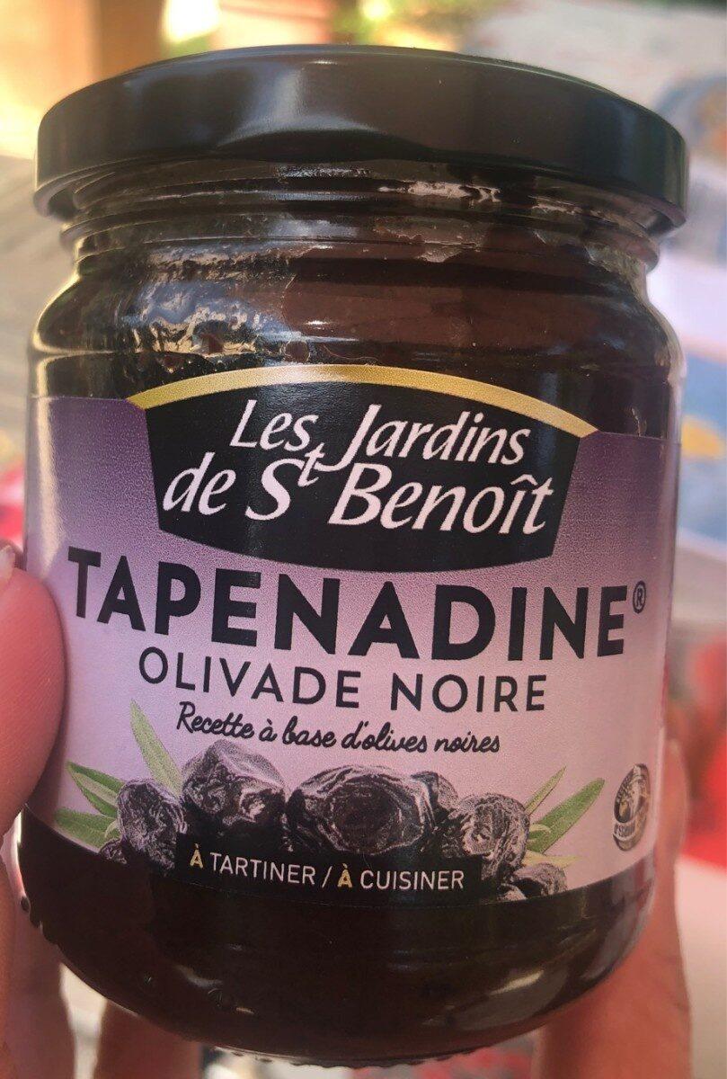 Tapenade Olives Noir - Les Jardins De St Benoît - 190G dedans Les Jardins De St Benoit