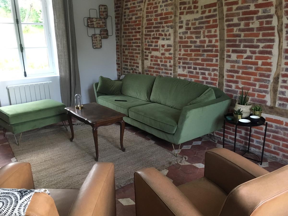 Tatil Evi Passage Du Marché (Fransa Blainville-Crevon ... encequiconcerne Truffaut Salon De Jardin