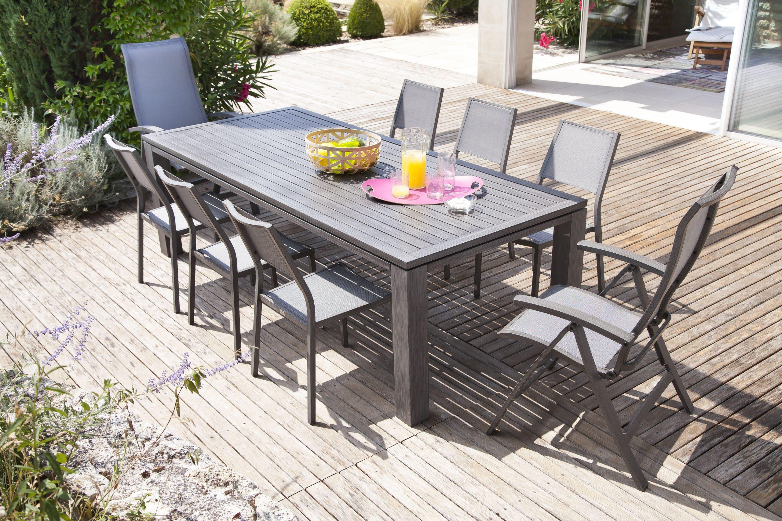 Tendance Décoration Du Jardin Et Design Exterieur concernant Conforama Table De Jardin