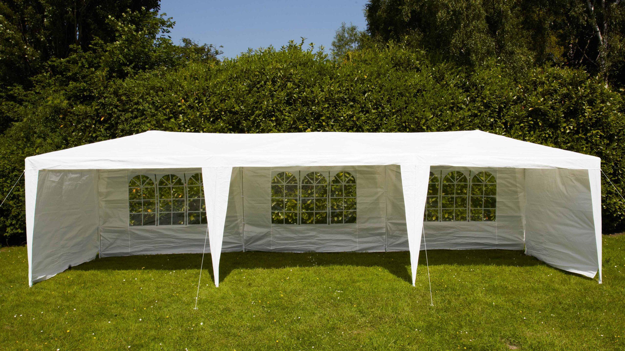 Tente De Réception 3X9M destiné Tente De Jardin Pas Cher