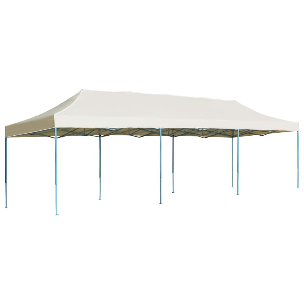 Tente De Réception Pliable 3X9 M Blanc Cassé - 44974 tout Tente De Jardin Pliante