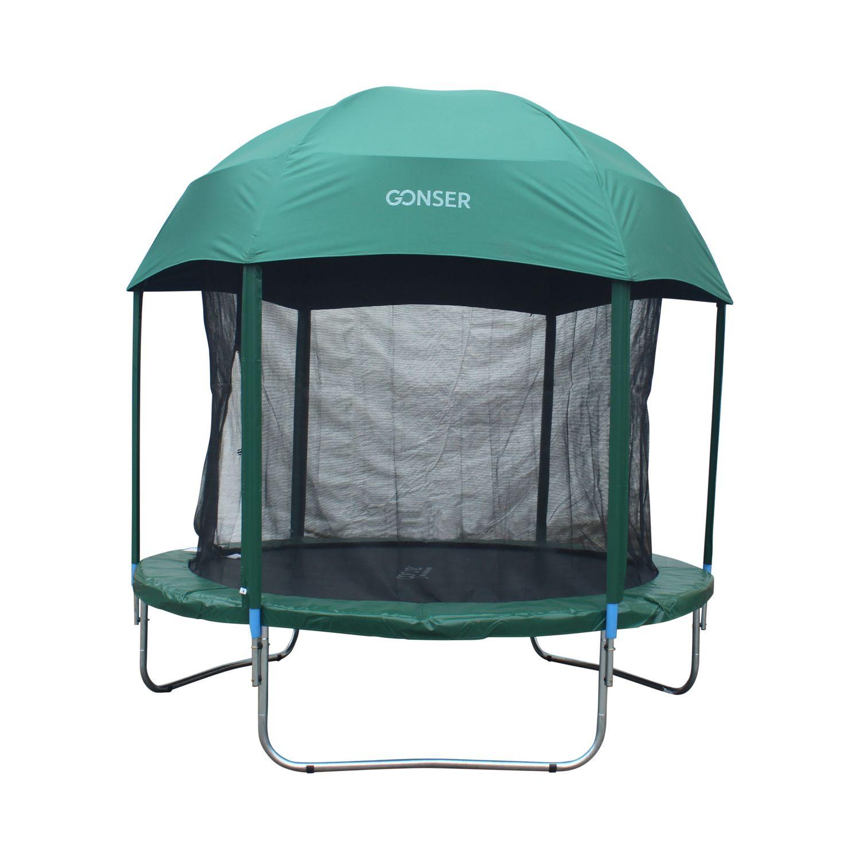 Tente Igloo Pour Trampoline 2.44 M dedans Trampoline Habitat Et Jardin