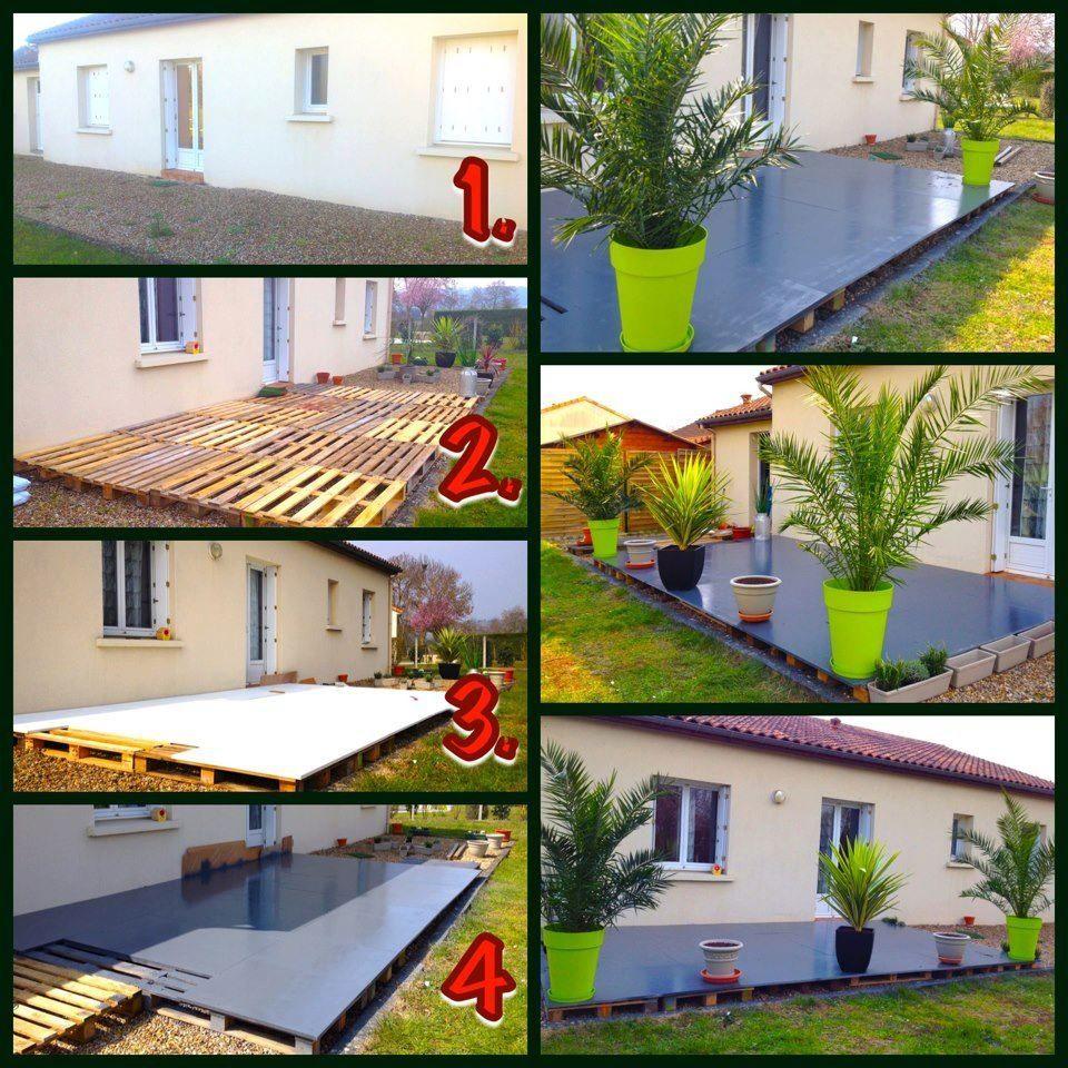 Terrasse | Amenagement Jardin, Deco Jardin Pas Cher Et Deco ... encequiconcerne Aménagement Jardin Pas Cher
