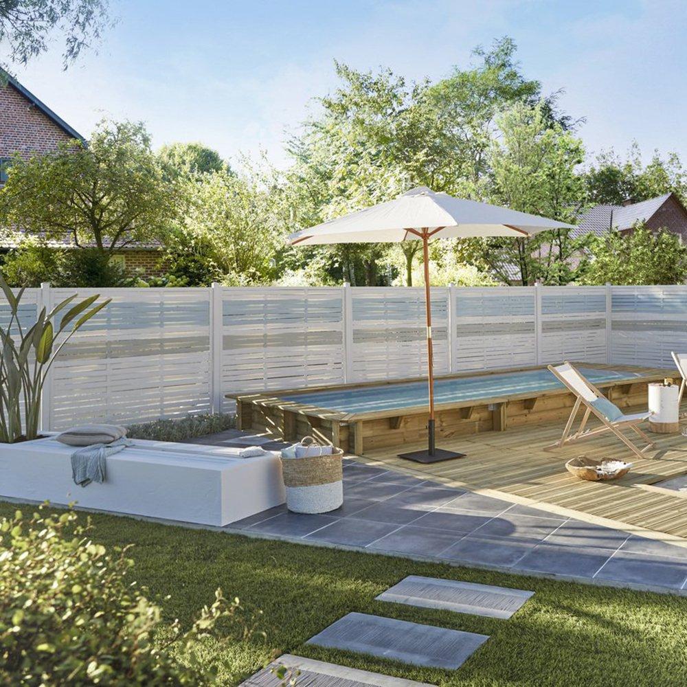 Terrasse En Ardoise : Tout Savoir - Marie Claire concernant Dalle Ardoise Jardin
