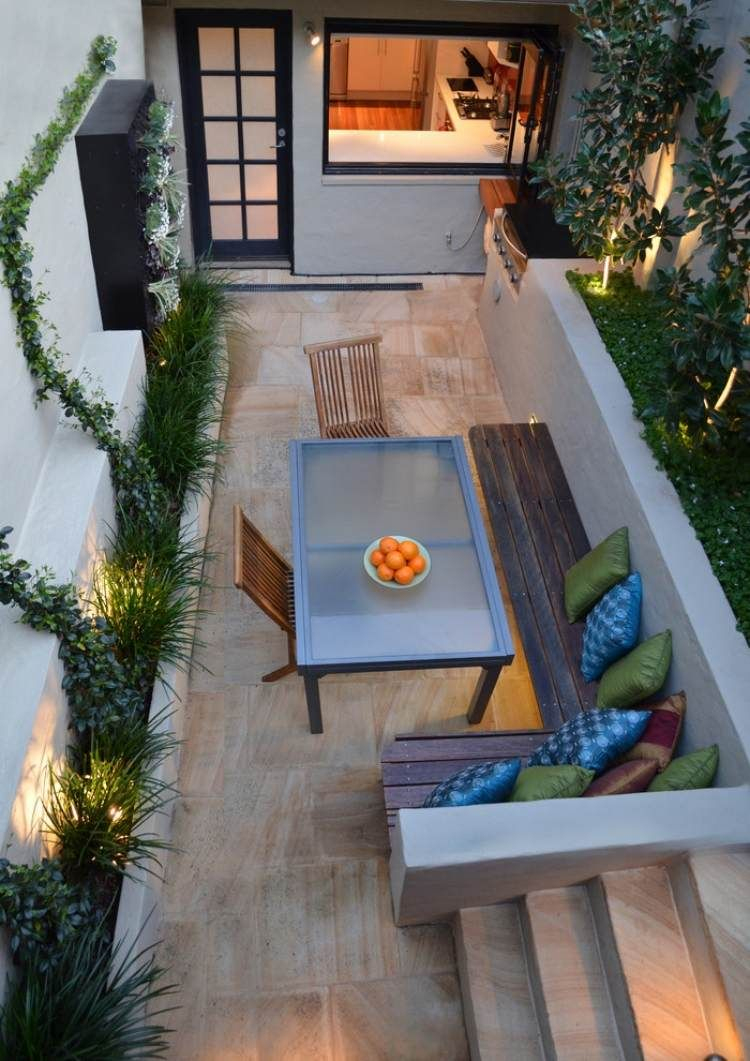 Terrasse Et Jardin: 24 Idées De Revêtement De Sol Extérieur ... destiné Revetement De Sol Jardin