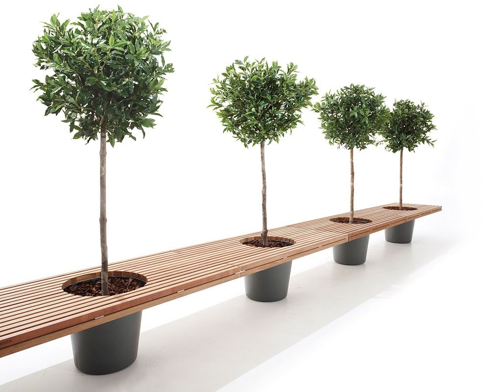 The Bench Is Made Of Long, Rectangular Strips Of Wood. Two ... à Table De Jardin Chez Casa